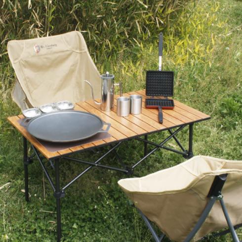 아이젠베르그 캠핑용 접이식 우드 테이블&체어