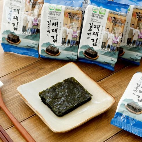 김수미의 밥은먹고다니냐 도시락 재래김