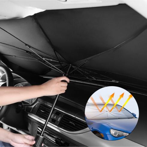 차량용 우산형 햇빛가리개 소형/대형 택1